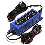 Chrome Pro Series 6V/12V 1 AMP Smart Battery Charger Xtend Maintainer