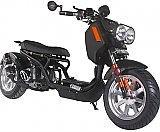Pitbull 50cc Lowered Stretched Gas Scooter Ruckus Copy PMZ50-21