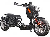 Pitbull Max 50cc Lowered Stretched Gas Scooter Ruckus Copy Moped V3