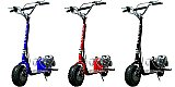 ScooterX 49cc Dirt Dog Gas Scooter Stand Up with Stunt Foot Pegs