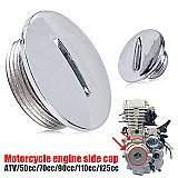 Dirt Bike Chrome Stator Cap Cover 50cc- 125cc Chinese Pit Bikes