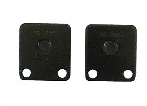 Front disc brake pads for a wide variety of 50cc, 125cc, 150cc and 250cc scooters