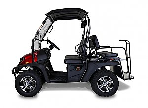 Linhai Yamaha Bighorn 200GVX Golf Cart UTV Side