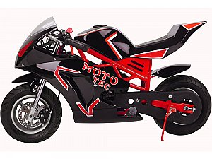 MotoTec GT 49cc 2 Stroke Gas Pocket Bike EPA OK