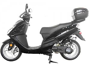 Hawkeye 150cc Gas Scooter Street Moped GY6 Sporty Scooter