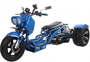Pitbull 150cc Scooter Trike 3 Wheel Street Ruckus