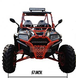 BMS Sniper T350 350cc UTV Utility Vehicle Side x Side Kart