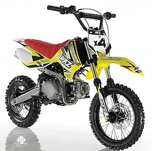 Apollo RFZ 110cc Race Pit Bike Dirt Bike X4 Semi Automatic