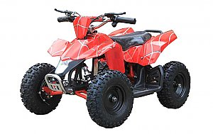 Kids Electric ATV MT-ATV3 Red Spiderman