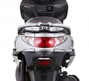 Znen Amigo Vista Executive 150cc Scooter Moped LED, Windshield, Stereo, Alarm