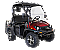 Linhai Yamaha Bighorn 200GVX Golf Cart UTV Red