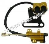 Dirt Bike Rear Hydraulic Brake Assembly Kit Chinese Pit Bikes