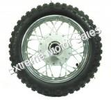 Dirt Bike 10 inch Rear Wheel Assembly Disc Brakes XR CRF
