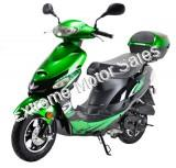 Gator 50-S3 50cc 4 Stroke Moped Scooter 49cc Electric Start with Trunk