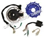 Hoca Performance Alternator Stator Kit for 2 Stroke Gas Scooters