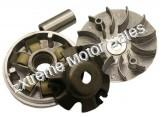 Variator Assembly 107mm Drive Face for 150cc and 125cc GY6 engines