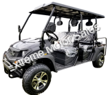 CAZADOR LIMO 400EFI Gas Golf Cart 6 Seat Injected UTV 2WD/4WD