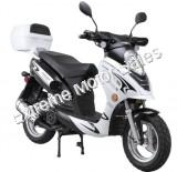 Challenger 150cc Scooter Gas Moped Pro Deluxe LED Light GY6