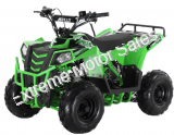 Mini Commander 110cc Kids ATV Quad 4 Wheeler with Parent Speed Governor