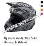 Fly Racing Youth Off Road Helmet Kinetic Elite Guild For Kids