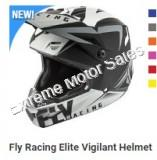 Fly Racing Off Road Helmet Elite Vigilant For Adults ATV Dirt Bike