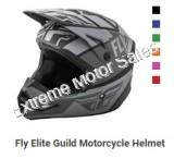 Fly Racing Off Road Helmet Kinetic Elite Guild For Adults ATV Dirt Bike
