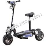 MotoTec Chaos 2000w 60v Lithium Electric Scooter with Seat