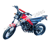 Magician 250cc Enduro Dirt Bike RED