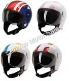 HCI HCI-15 Multi Strip Scooter Helmet Street DOT