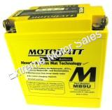 Motobatt Quadflex Battery 12V 9ah ATV Scooter Replacement 2 Year