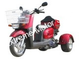 PST50-9 Trike Scooter RED