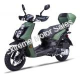 Amigo Jax RX150 150cc Gas Scooter Moped 4 Stroke with USB and Trunk