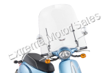 Slip Streamer Scoot 50 Scooter Windshield SlipStreamer