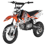 Apollo DB-X4 Kids 110cc Pit Bike Dirt Bike 4 Speed Semi Automatic