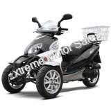 DF50TKA 50cc Reverse Trike Scooter 3 Wheel