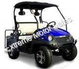 HJS EV5 Electric Golf Cart Blue