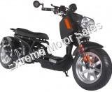 Pitbull PMZ50-21 50cc Lowered Stretched Gas Scooter Ruckus Copy