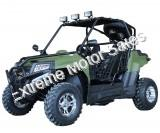 Rancher Deluxe 200GKV Kids UTV Utility Vehicle Side x Side Extended