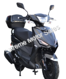 Amigo SS150 150cc 4 Stroke Gas Moped Scooter With USB and Trunk