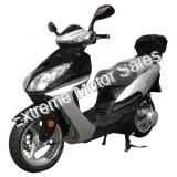 Eagle 150cc Scooter Gas Moped GY6 13 inch Wheel MP3 Radio