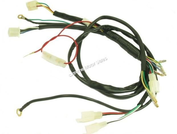 Extreme Motor Sales, Inc > Electrical > Mini ATV General Wiring Harness  Chinese 4 Wheeler 50cc 70cc 110ccExtreme Motor Sales