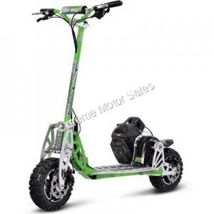 UberScoot 70X 70cc Gas Powered Scooter Stand Up 2 Speed