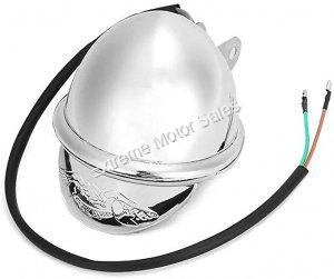 Mini Chopper Harley 12V Chrome Headlight Light Assembly