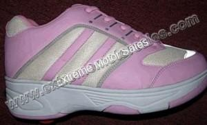 Heelies Air Pink and White Roller Skate Shoes