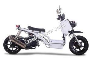 Pitbull 150cc Lowered Stretched Gas Scooter Ruckus Scooter V1
