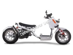 Pitbull 150cc Lowered Stretched Gas Scooter Ruckus Scooter V3
