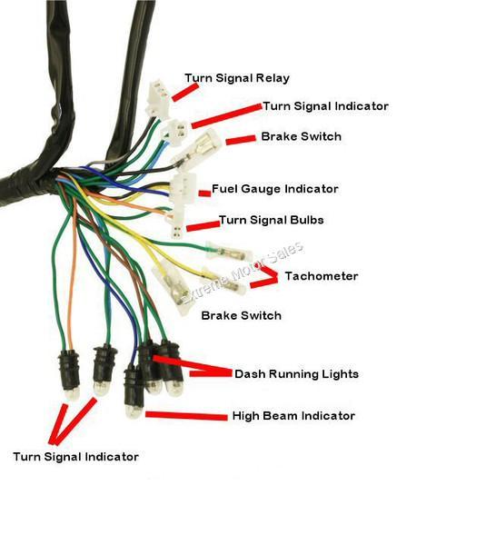 Extreme Motor Sales  Inc  U0026gt  Electrical  U0026gt  Wiring Harness