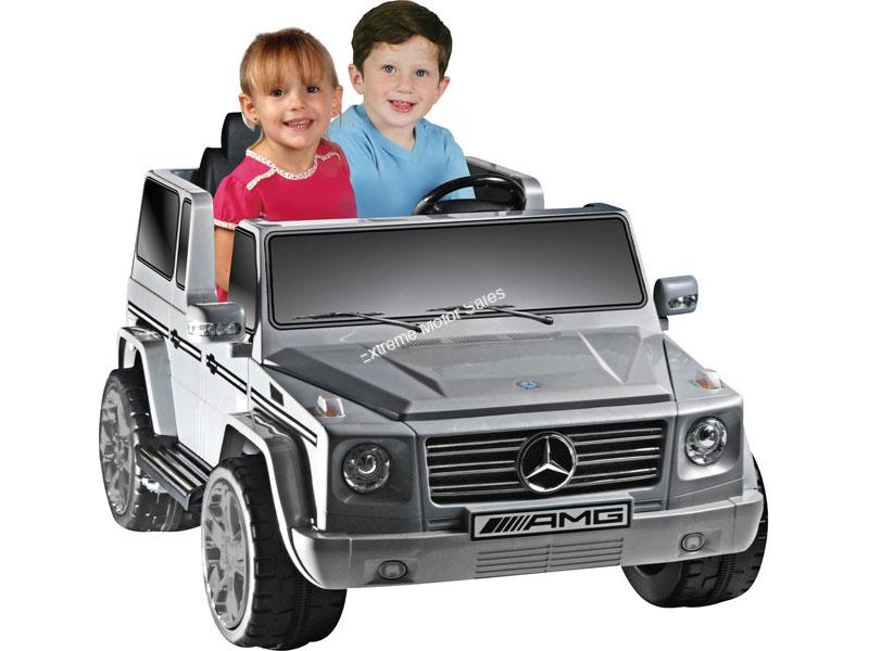 extreme motor sales inc battery power toys extreme mercedes benz g55 12v truck gray power wheels toy electric extreme mercedes benz g55 12v truck gray power wheels toy electric