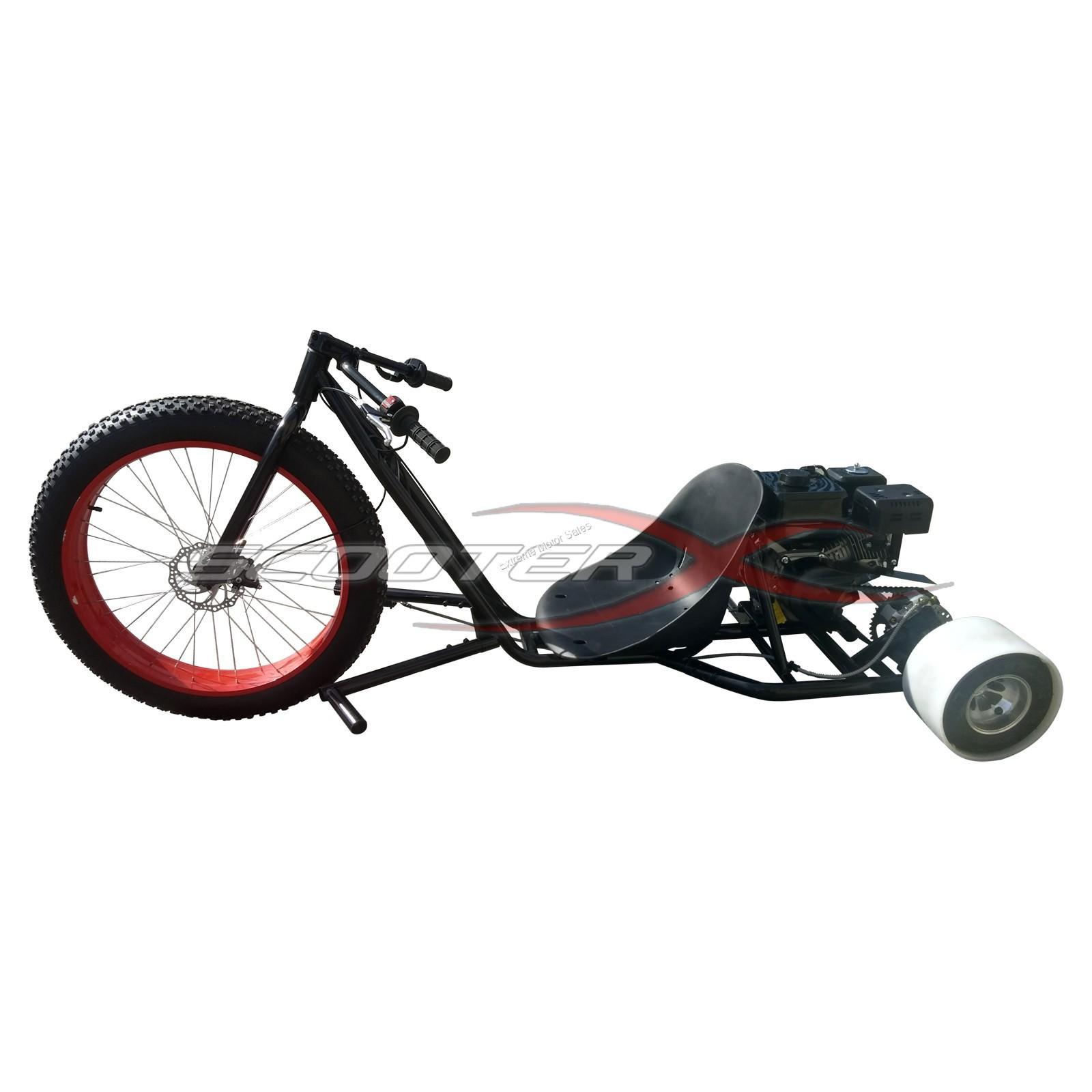 Extreme Motor Sales Inc Drift Trike Extreme 6 5 Hp Gas Drift Trike 3 Wheel Big Wheel Kart